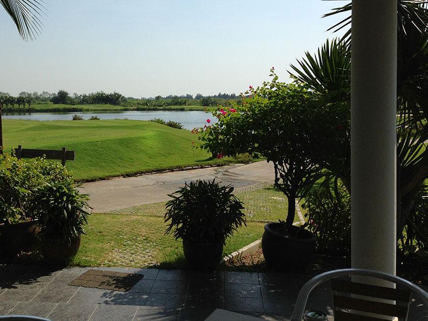 ベストオーシャンゴルフコース コース内の休憩所