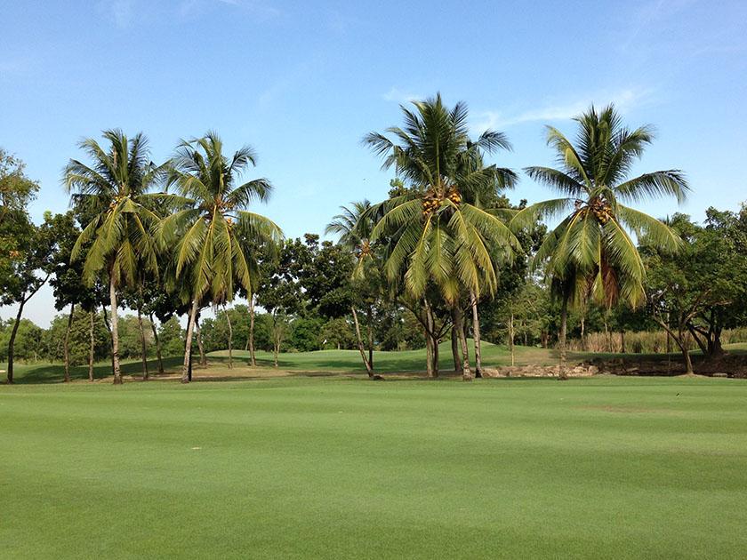 ラムルッカ・カントリークラブ 南国の雰囲気のゴルフ場