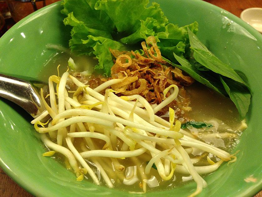 2012年に食べたもの ベトナム料理のお店のフォー