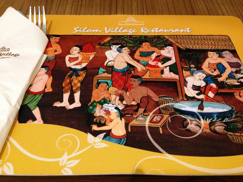 2012年に食べたもの シーロムビレッジレストラン