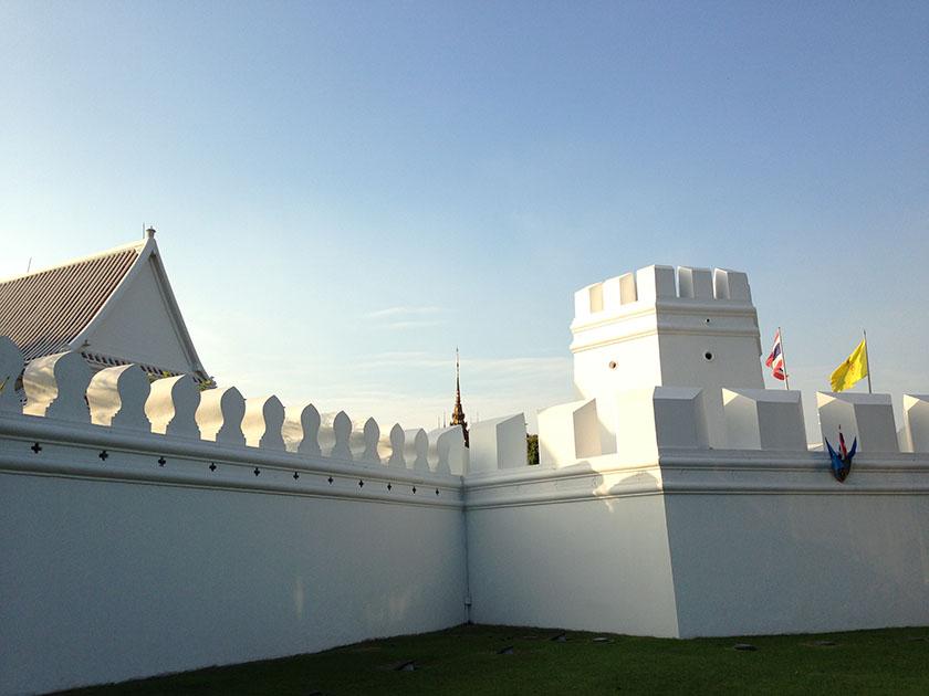ワットプラケオ 王宮の塀