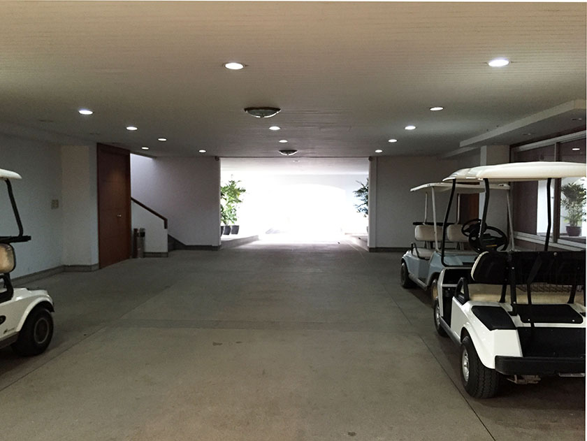 キアタニカントリークラブ クラブハウス1階