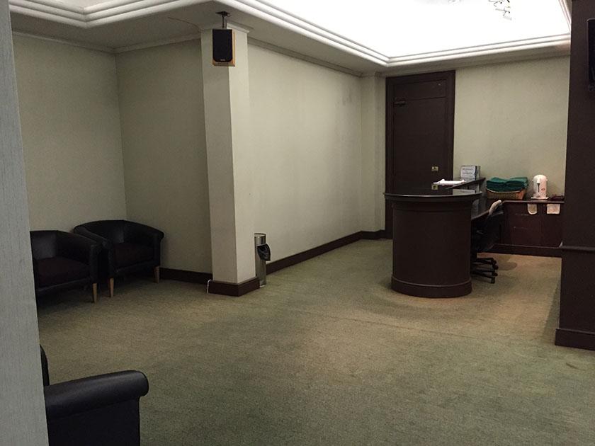 クリサダシティゴルフヒルズ ロッカールームは清潔