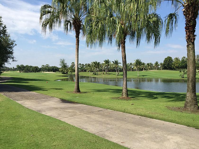 スワン ゴルフ&カントリークラブ 暑さが似合う南国の風景
