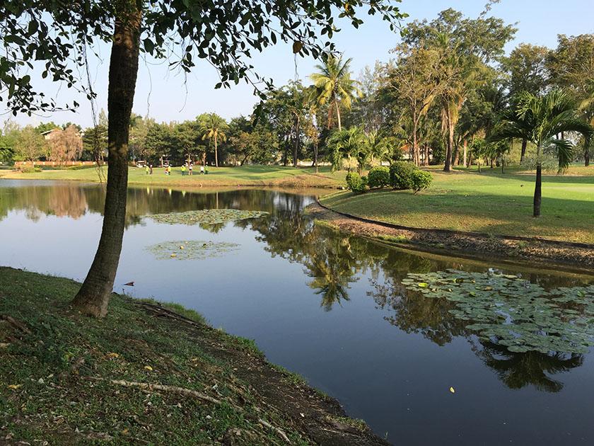 ウィンザーパーク&ゴルフクラブ 池見飽きた