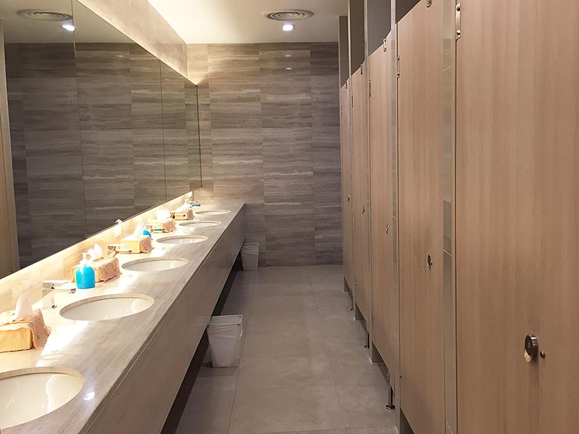 レムチャバンカントリークラブ トイレも清潔