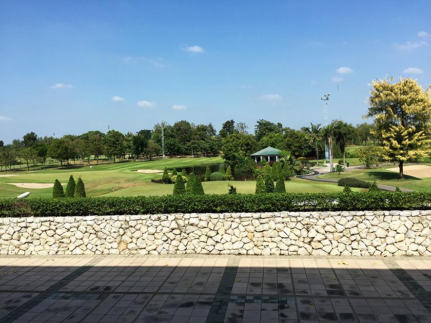 バンコクゴルフクラブ コースはきれいだった