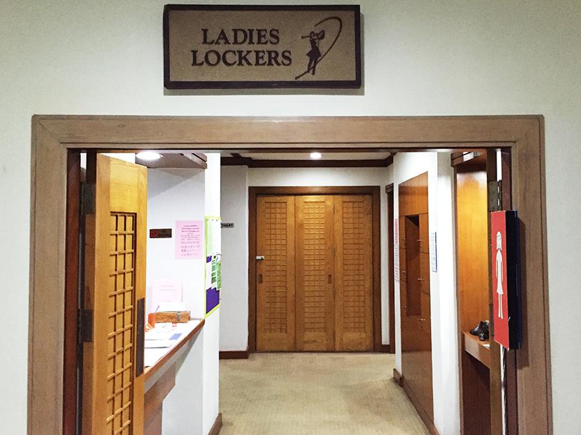 バンコクゴルフクラブ ロッカールーム入口