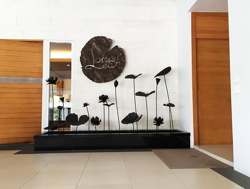 ロータスバレーゴルフリゾート レストラン入口