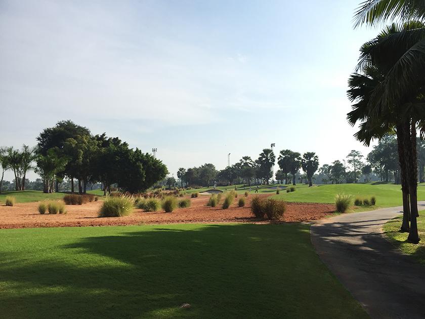 スワンゴルフ&カントリークラブ 6番ティーショット