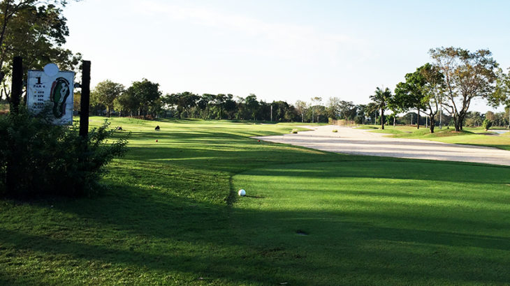 ザ レガシーゴルフクラブ 1番の大きなバンカー