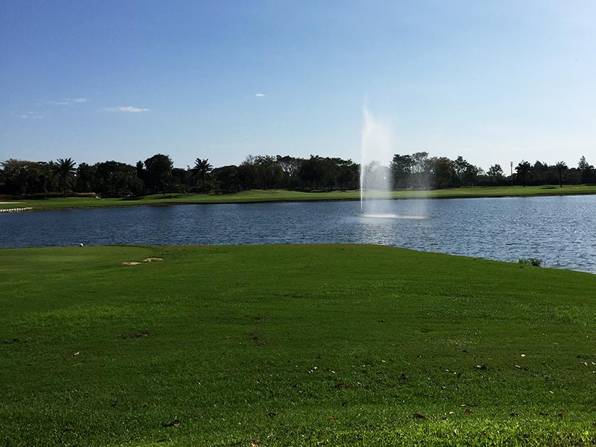 ザ レガシーゴルフクラブ 池もあります