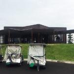 女子プロツアー開催コース「ゴルフ5カントリー美唄」、ゴルフの後は美唄焼き鳥「たつみ」へ
