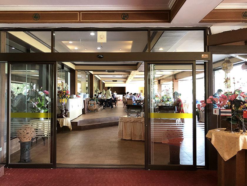 グリーンバレーチェンマイ レストラン入口
