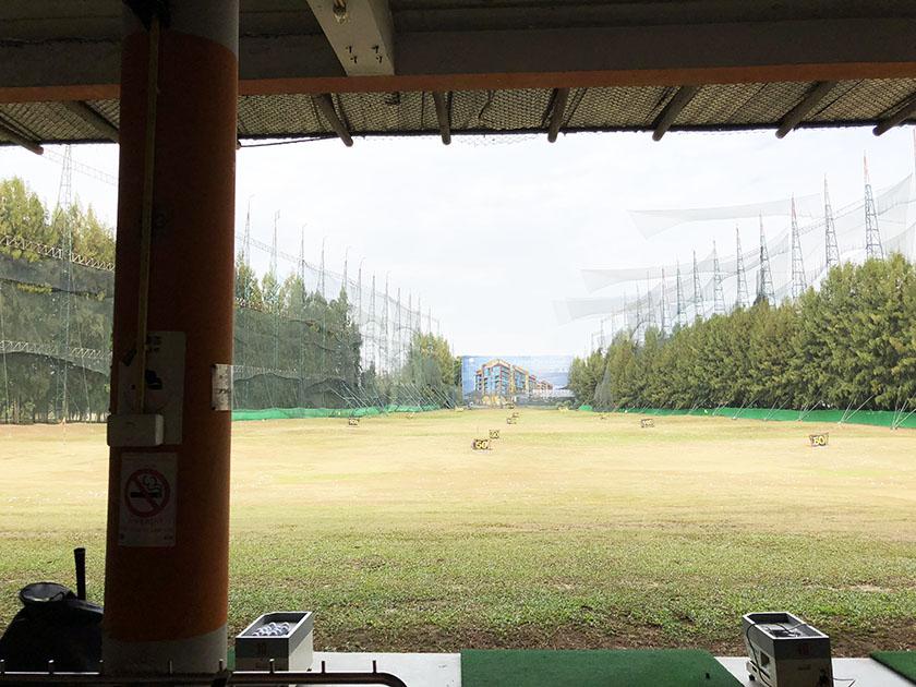 スタードームゴルフクラブ 奥行250yards