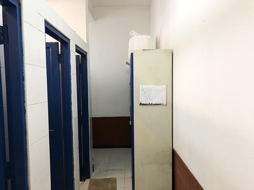 チェンマイジムカーナクラブ トイレの奥に行くと