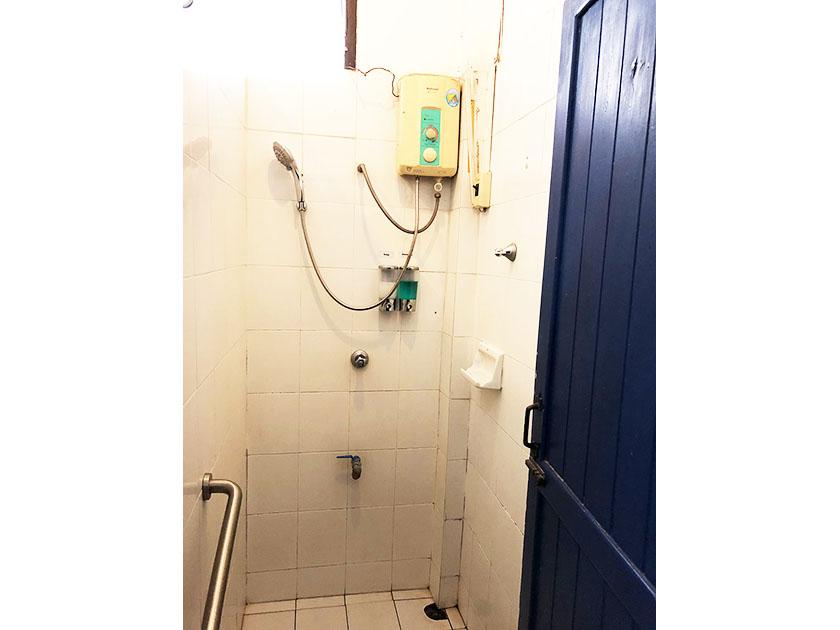 チェンマイジムカーナクラブ シャワーがありました