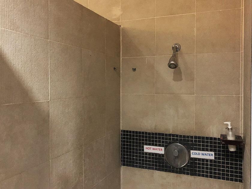 チェンマイハイランド 固定シャワー