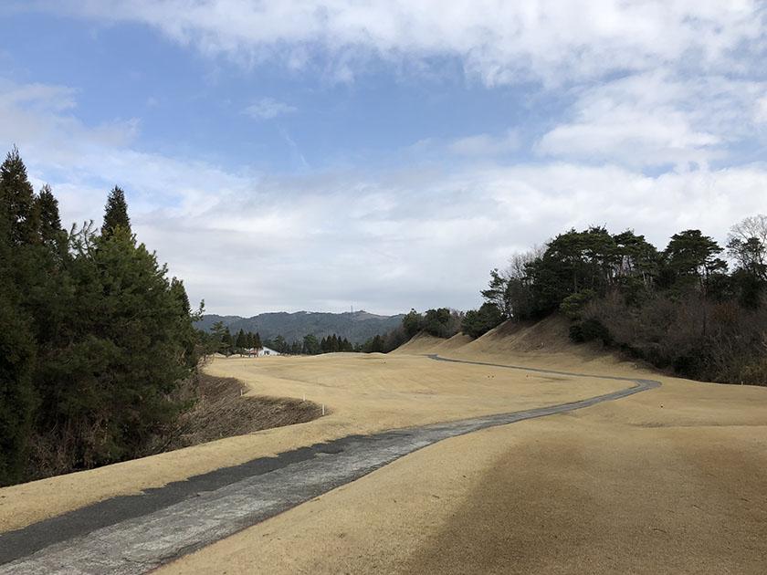 時々青空が見えた-尾道ゴルフ倶楽部