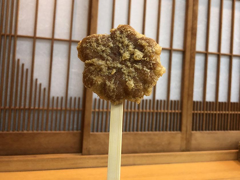 宮島で食べた紅葉堂の揚げもみじ