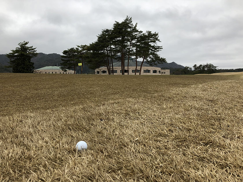 ラストホール-千代田OGMゴルフ倶楽部