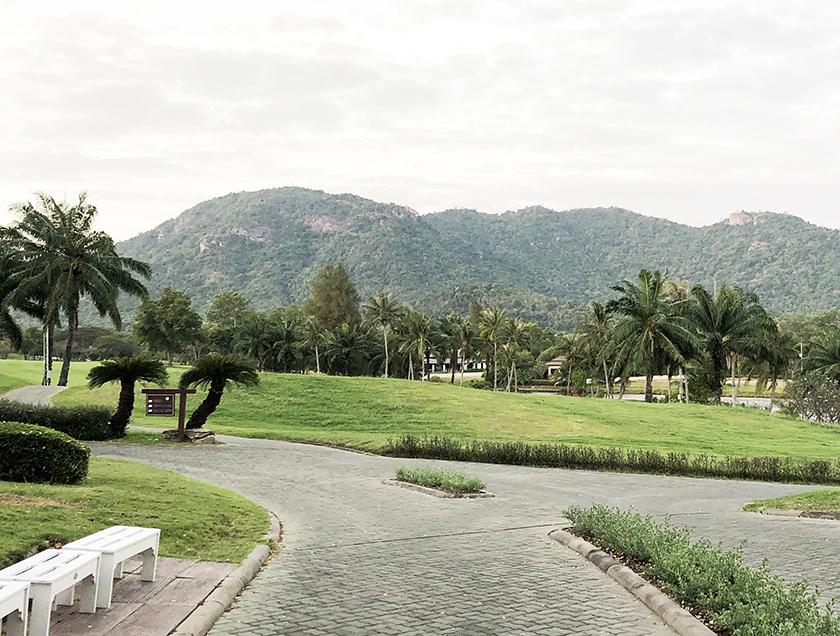 パームヒルズゴルフリゾート&カントリークラブ バンコクとは違う景色