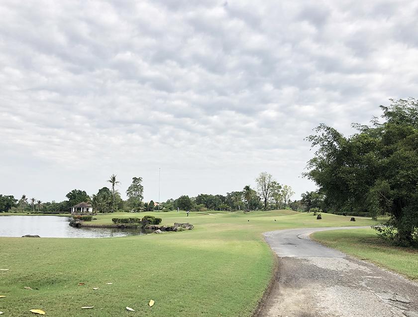 よくあるバンコクのゴルフ場