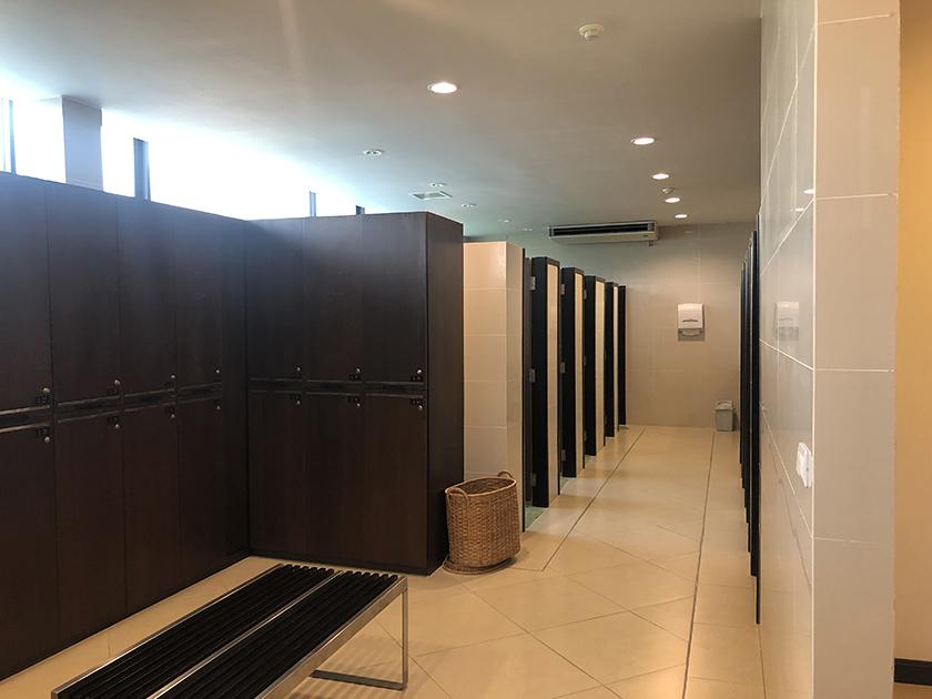 シーパインゴルフコース シャワールーム
