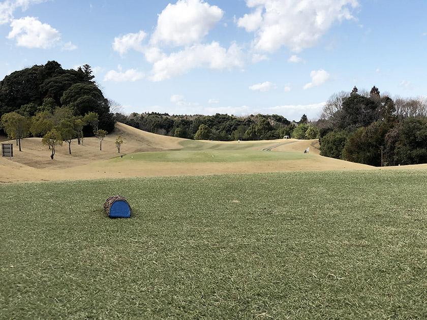茨城セントラルゴルフクラブNEWコース 青ティーから