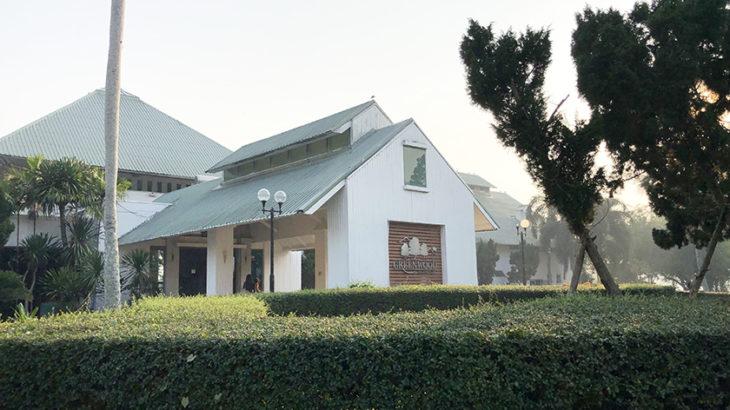 グリーンウッドゴルフリゾート グリーンウッドのクラブハウス