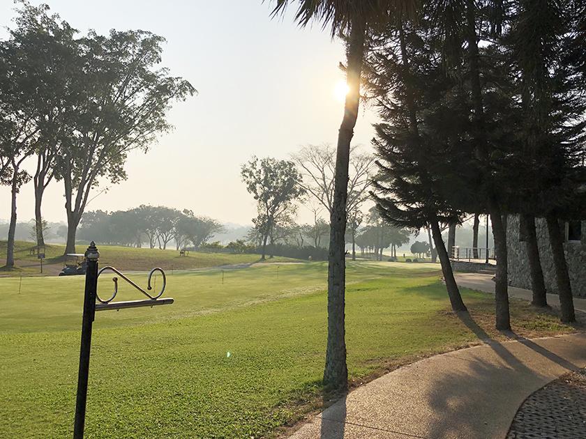 グリーンウッドゴルフリゾート 練習グリーンかな?