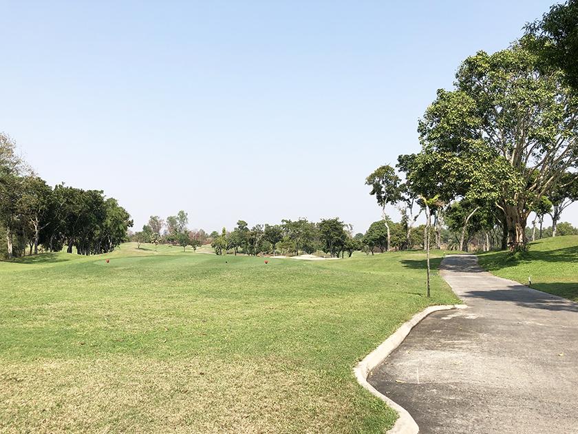 グリーンウッドゴルフリゾート 何番だろう、覚えてない