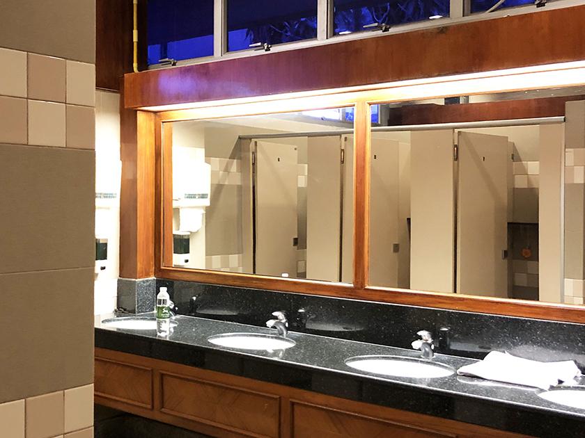 カオキオカントリークラブ トイレはキレイだった