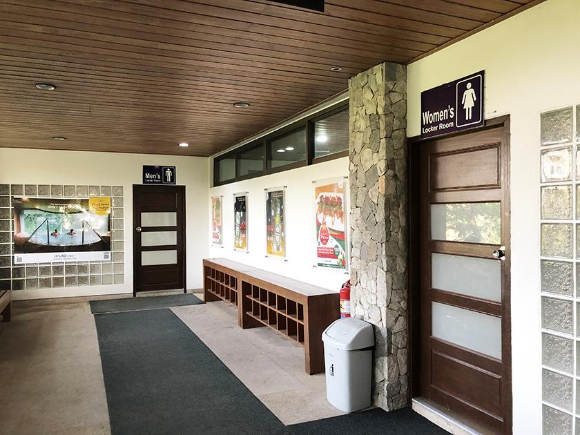 トレジャーヒルゴルフ&カントリークラブ ドアが重い