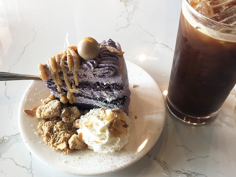 コモンルーム タロイモケーキ