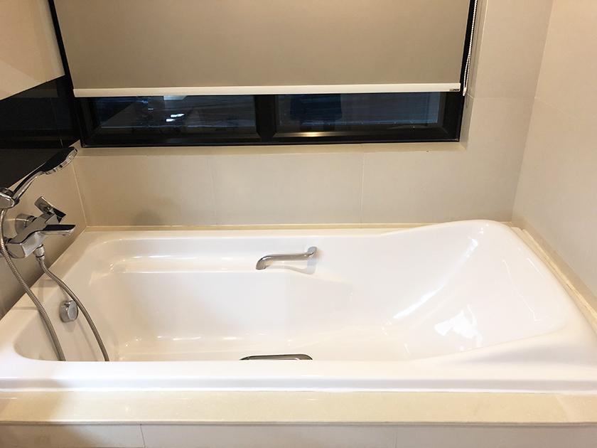 パシフィックパークホテルの部屋 浴槽
